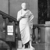 Sophocles arrives