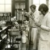 Image: 6603/2848 (Laboratory work, King's College of Household and Social Science, c. 1930 (Ref: Q/PH3/18))