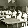 Image: 6603/2850 (Laundry students at King's College of Household and Social Science, c. 1930 (Ref: Q/PH3/16))