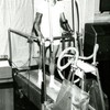 Image: 6604/2871 (Measuring the effects of treadmill exercise on a College athelete, c1971 (Ref: Q/PH3/180.)