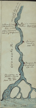 Illustration of the River Oronooko from Young's Essay, page 30