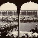 Durbar marching troops