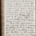 Manuscript of Byron's 'Detached Thoughts', f.58v (left-hand page)