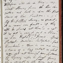 Manuscript of Byron's 'Detached Thoughts', f.59r (right-hand page)