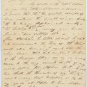 First page of letter from Byron to John Murray II, 4 December 1821