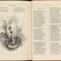 Opening at pages 526-7 including illustration of Napoleon standing beside rocks with arms folded and looking out to sea.