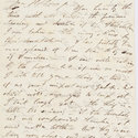 First page of letter from Byron to John Cam Hobhouse, 26 April 1821.