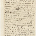 Byron's manuscript of 'Note to the annexed stanzas on Brougham', 7 December 1818.