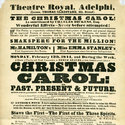 Playbill for A Christmas Carol, at the Theatre Royal, Adelphi, February 1844