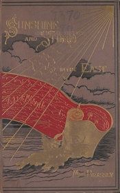 Cover design showing sunshine, a scroll, the sea and clouds