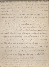 Manuscript text from Young's Essay, page 9