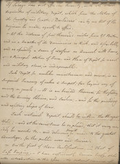 Manuscript text from Young's Essay, page 23