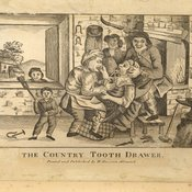 The country tooth drawer, published by William Davison, early 19th century (BDA Museum, ref: 10465)