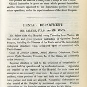 Extract from Guy's Hospital Medical School Prospectus 1876 (Ref: G/PUB2/1)