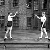 Gymnastics training at Chelsea Polytechnic, 1930s (Ref: C/PH4/23)
