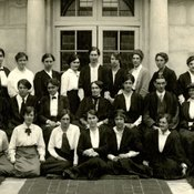 Department of Household & Social Science at King's College for Women, 1916 (Ref: Q/PH1/2)