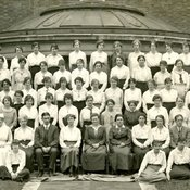 Department of Household & Social Science at King's College for Women, 1920 (Ref: Q/PH1/11)