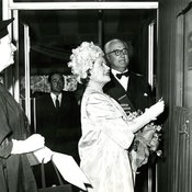 The Queen Mother opens the Sir John Atkins Laboratories, 1961 (Ref: Q/PH2/52)
