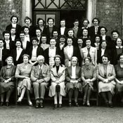King's College of Household and Social Science during evacuation to Leicester, 1940-41 (Ref: Q/PH1/33)