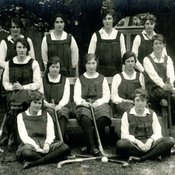Hockey Team, Department of Household & Social Science, c1920 (Ref: Q/PH1/12)