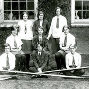 Junior and Senior Rowing Crews at King's College of Household and Social Science, 1928-29 (Ref: Q/PH1/20)