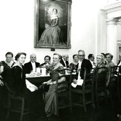High table at Jubilee Commemoration Dinner, 1958 (Ref: Q/PH2/31)