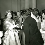 Queen Mother at Jubilee reception, 1958 (Ref: Q/PH2/30)