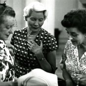 Miss Sargeaunt's leaving party, 1966 (Ref: Q/PH4/17)