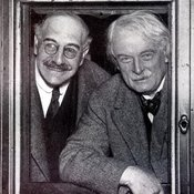 Alfred Mond with Lloyd George