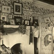 Beryl White's bedroom at the Residency