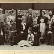 Cast for 'The Manoeuvers of Jane' 1902