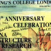 40th anniversary poster signed by King's team