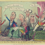 Robert Cruickshank on the Royal divorce, 1820