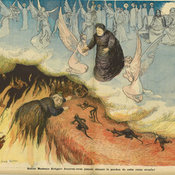 Queen Victoria in hell