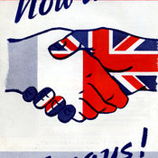 Anglo-French solidarity leaflet
