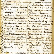 Rugby Fixtures List, 1881-2