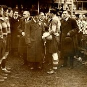 King George V at 1922 Cup final