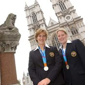 Katherine Grainger and Frances Houghton