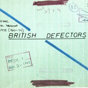 Cover photo for file on defectors, with restricted and confidential written over it