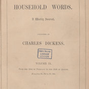 Title page of vol.9 of Household Words