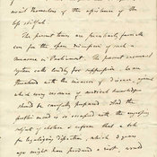 Extract from handwritten letter