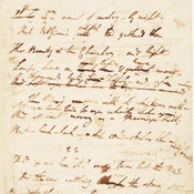 Manuscript of Byron's Childe Harold's Pilgrimage, Canto III, stanzas 21-22.