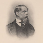 Portrait photo of Dickens, aged 56