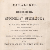 Title page of the exhibition catalogue.