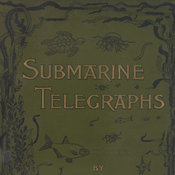 Pictorial green cloth book cover depicting an underwater scene with text lettered in gold.