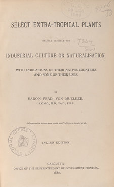 Title page of book