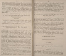 Opening showing part of the English translation of the Treaty of Paris relating to Switzerland