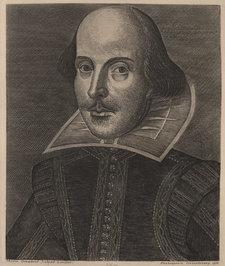 Droeshout's portrait of William Shakespeare
