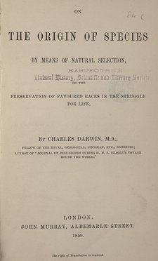 Title page of featured work