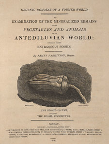 Title page of Organic remains of a former world, volume 2